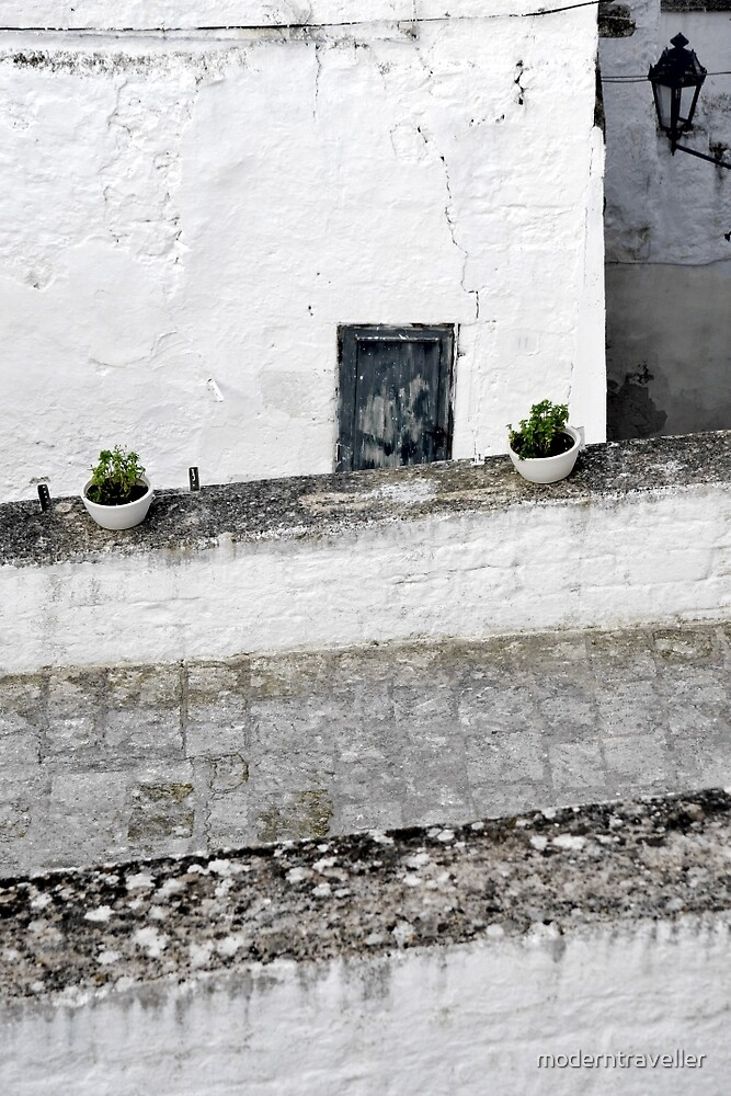 Stone walls and walkways, Puglia by moderntraveller