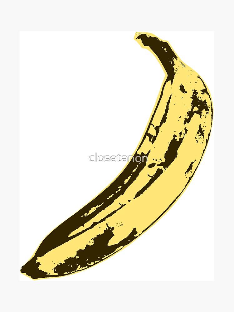 A Very Ripe Banana by closetanon