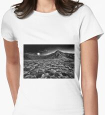 Giants Causeway Moonrise Womens Fitted T-Shirt