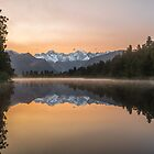 Lake Matheson by Govinda Niels Koervers