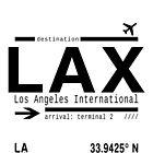 LAX Los Angeles International Airport by Leah Biernacki