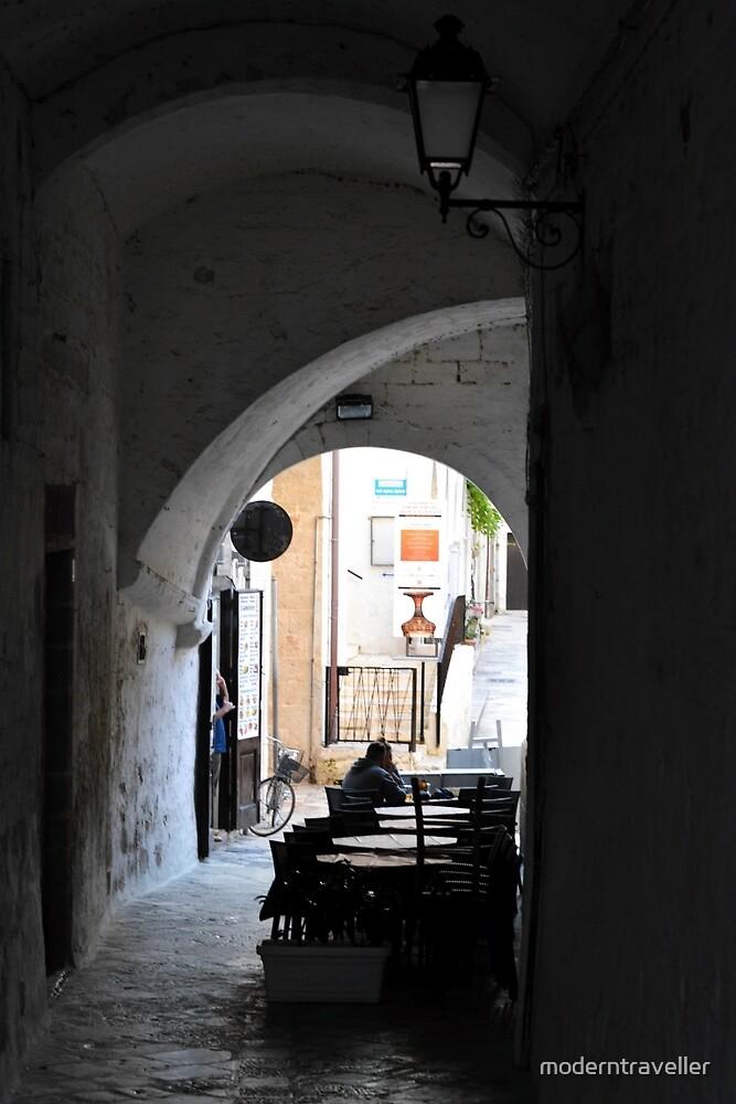 Urban arches, Puglia by moderntraveller