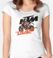 KTM SUPER DUKE Women's Fitted Scoop T-Shirt