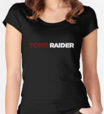 TOMB RAIDER LOGO (2013) Women's Fitted Scoop T-Shirt