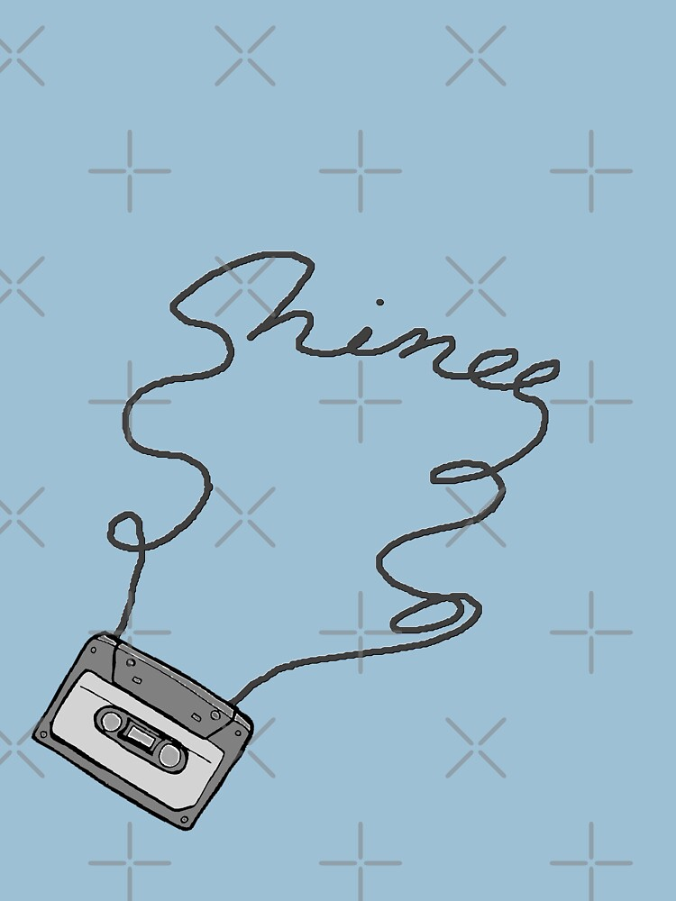 SHINee cassette tape writing by dubukat