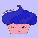 Cupcake Princess Blue by Artsy Mews