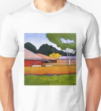 Australian Backyard with Hills Hoist Unisex T-Shirt