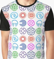 EPCOT Pavilions Graphic T-Shirt