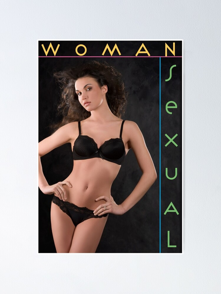 Alternate view of WOMAN: Sexual Poster