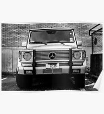 Mercedes G Class Wagon Poster