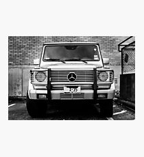 Mercedes G Class Wagon Photographic Print