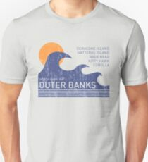 Outer Banks NC Waves Unisex T-Shirt