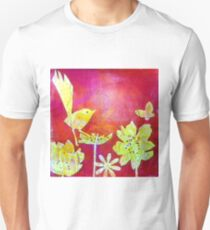 Yellow Bird Unisex T-Shirt
