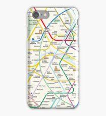 The New Paris Metro Map iPhone Case/Skin