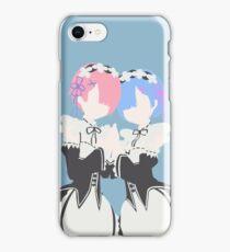 Rem and Ram - Minimalist iPhone Case/Skin
