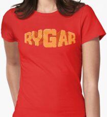 Rygar (NES Title Screen) Women's Fitted T-Shirt