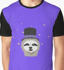 Sloth Wizard with head Graphic T-Shirt