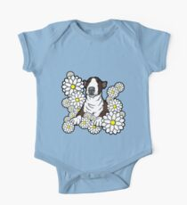 English Bull Terrier Pebbles One Piece - Short Sleeve