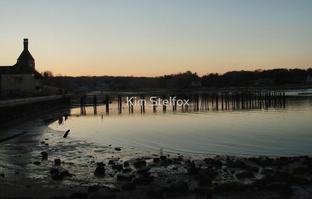 harbor docks by Kim Stelfox