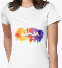 Berlin Skyline Watercolor T-Shirt