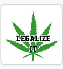 Legalize It Sticker