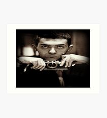 Young Stanley Kubrick Art Print