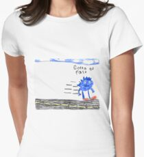 Sonic the Hedgehog GO FAST Women's Fitted T-Shirt