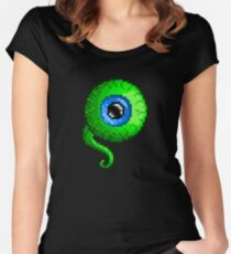 Jacksepticeye Pixel art logo - SepticeyeSam Women's Fitted Scoop T-Shirt