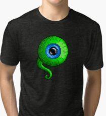 Jacksepticeye Pixel art logo - SepticeyeSam Tri-blend T-Shirt