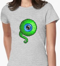 Jacksepticeye Pixel art logo - SepticeyeSam Womens Fitted T-Shirt