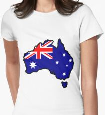 Australia Women's Fitted T-Shirt