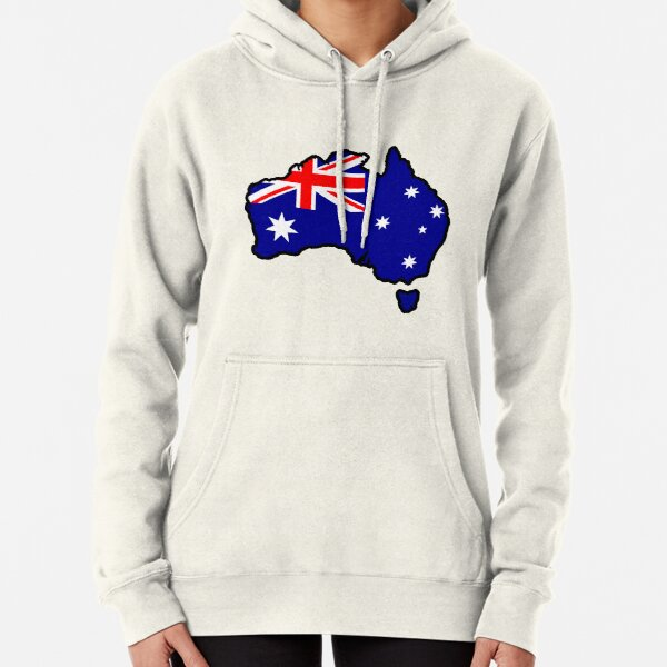 Australia Pullover Hoodie