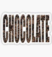 Chocolate chocolate Sticker