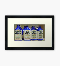 Philips Milk of Magnesia Framed Print