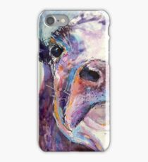 Purple Cow iPhone Case/Skin