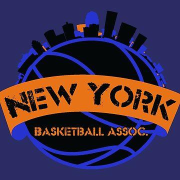 New York Basketball Association by kassette