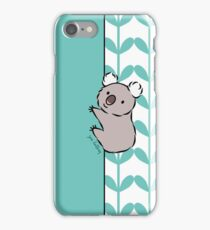 Clinging Koala  iPhone Case/Skin