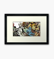 Rocking Horses Framed Print