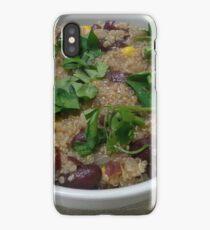 Quinoa, Beans and Corn iPhone Case