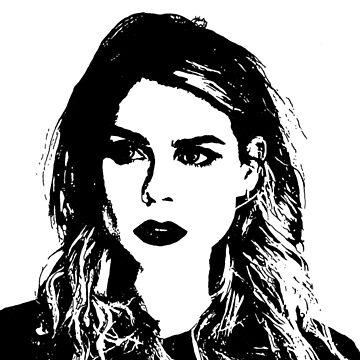 High Contrast Billie Piper by rosem-arts