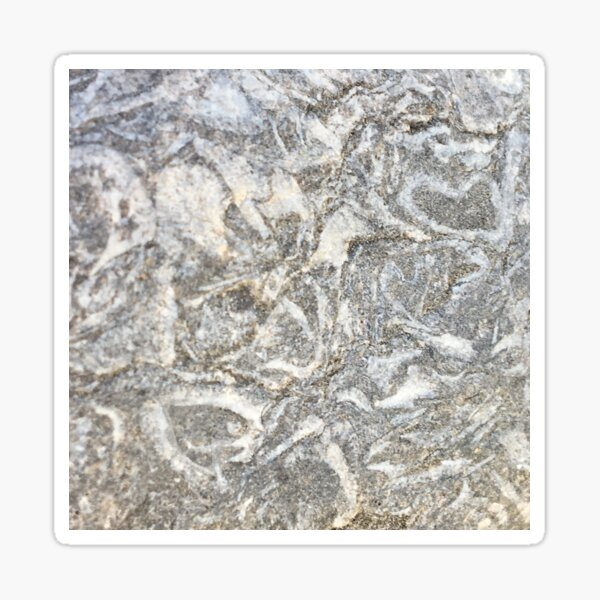 Patterns of Stone Sticker