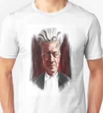 David Lynch Caricature Portrait T-Shirt