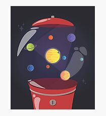 Gumball Machine In Space Photographic Print