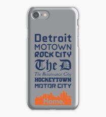Detroit Is My Home - Tigers Edition iPhone Case/Skin
