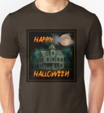 Haunted Mansion - Happy Halloween Unisex T-Shirt
