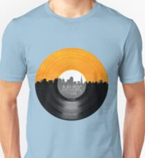 Music Is Life Record T Shirt Unisex T-Shirt