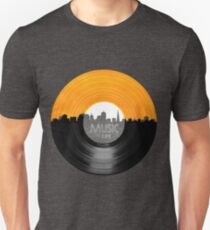 Music Is Life Record T Shirt T-Shirt