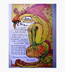 The Dragon. ;-  Chinese Horoscopes, Your Year. Photographic Print
