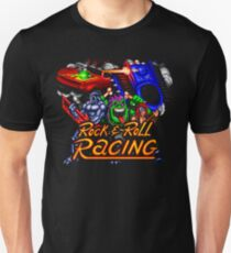 Rock n' Roll Racing (SNES Title Screen) T-Shirt