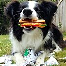 Golly said Ollie........this burger was well wrapped......! by Roy  Massicks